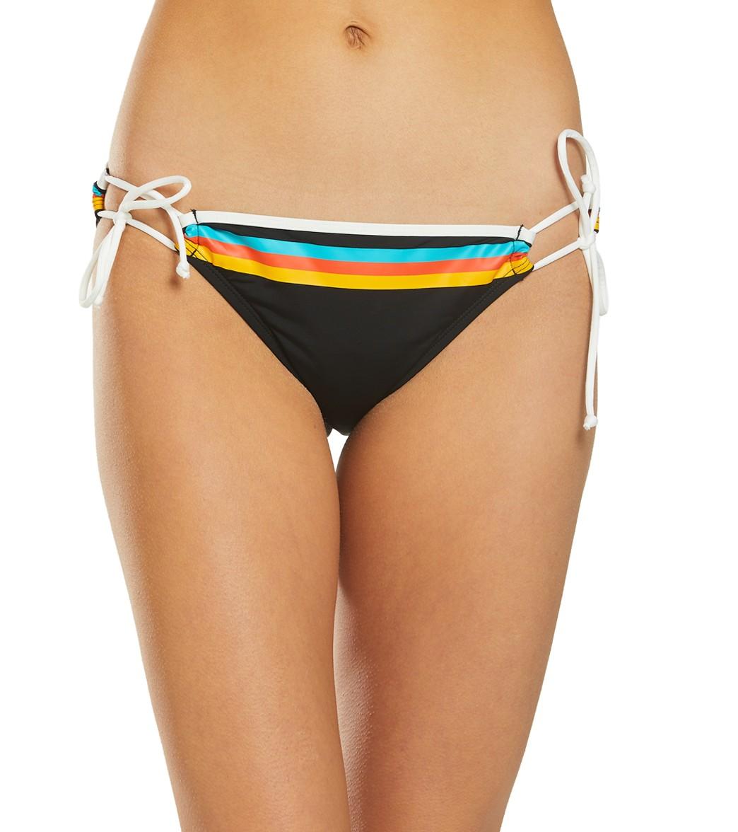 Adjustable Heritage Stripe Bottom Bikini Hobie vynP8ONw0m