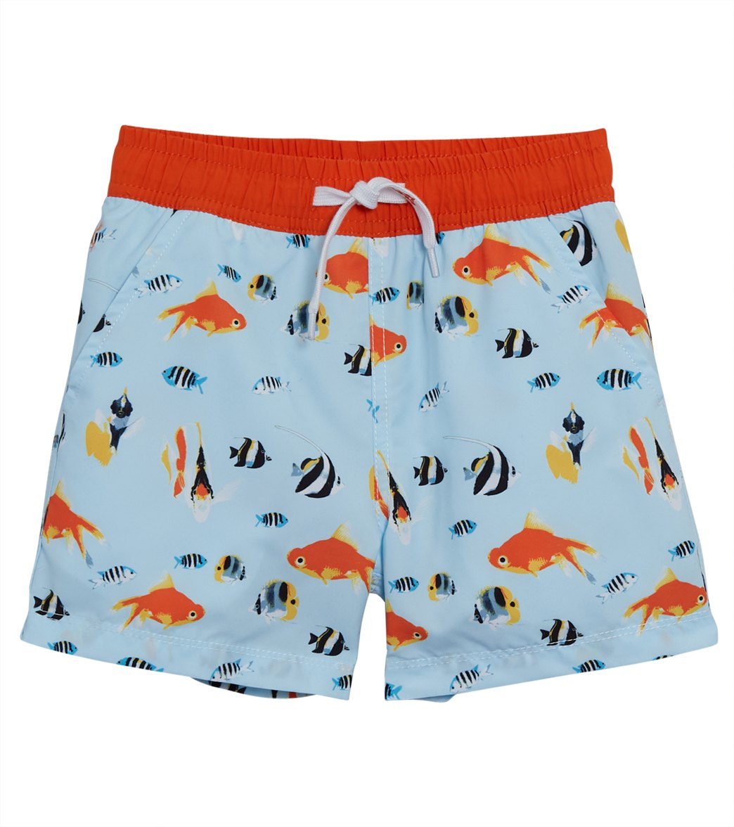 Charlie Rocket Boys Newborn Crab Swim Set