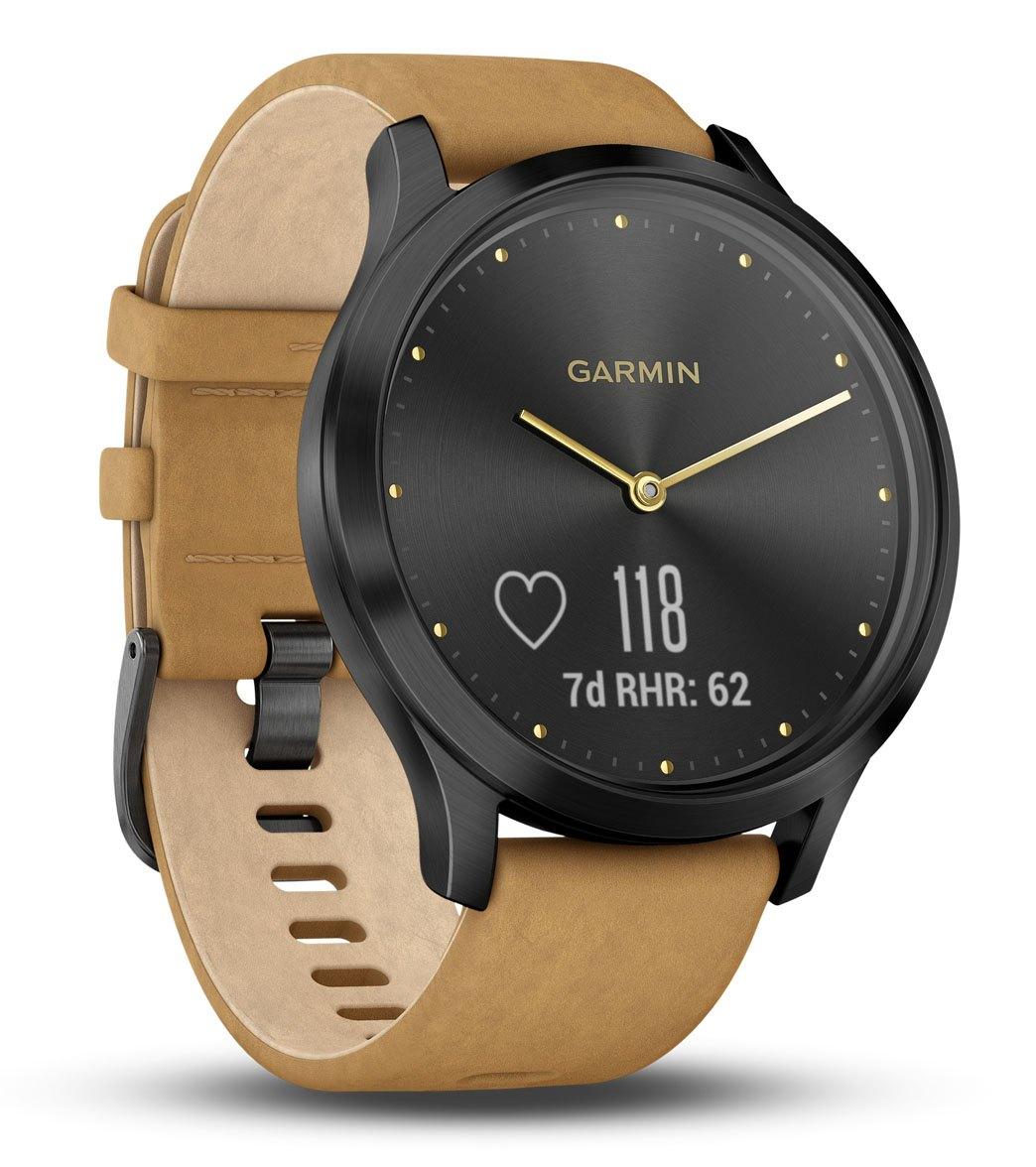 Garmin Vivomove HR Premium Hybrid Smart Watch