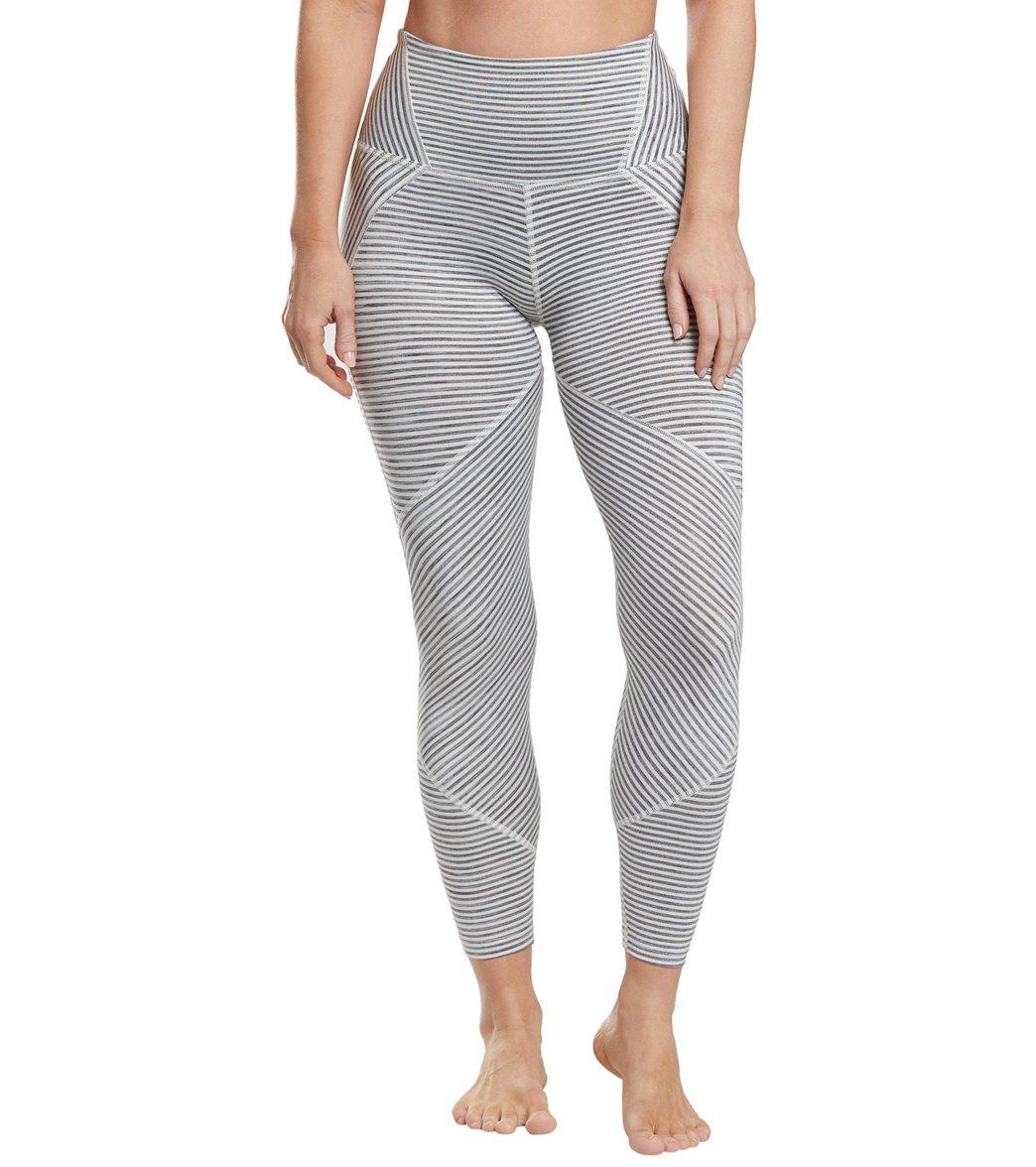 c11293cc0c42fa Beyond Yoga True To Stripe High Waisted 7/8 Yoga Leggings at ...