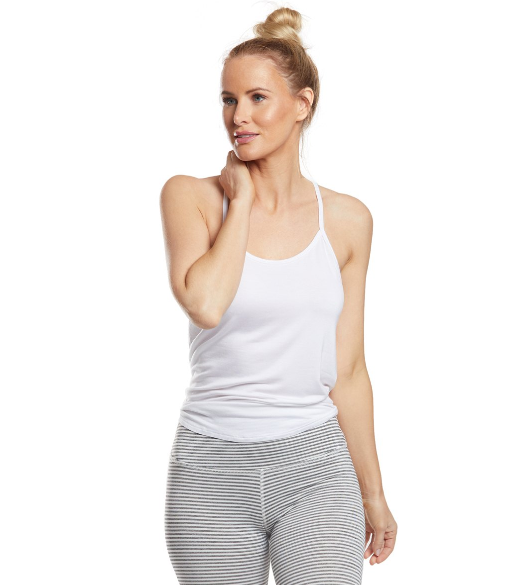 7eec411c66512 Beyond Yoga Slink It Over Yoga Tank at YogaOutlet.com - Free Shipping