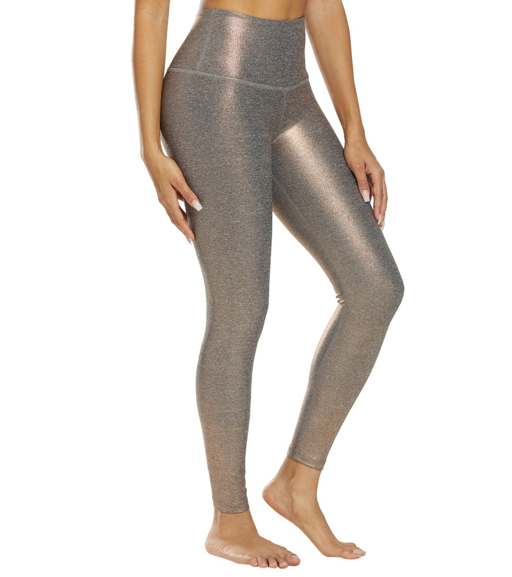 75e5d7f473fe74 Beyond Yoga Dusted High Waisted 7/8 Yoga Leggings at YogaOutlet.com ...