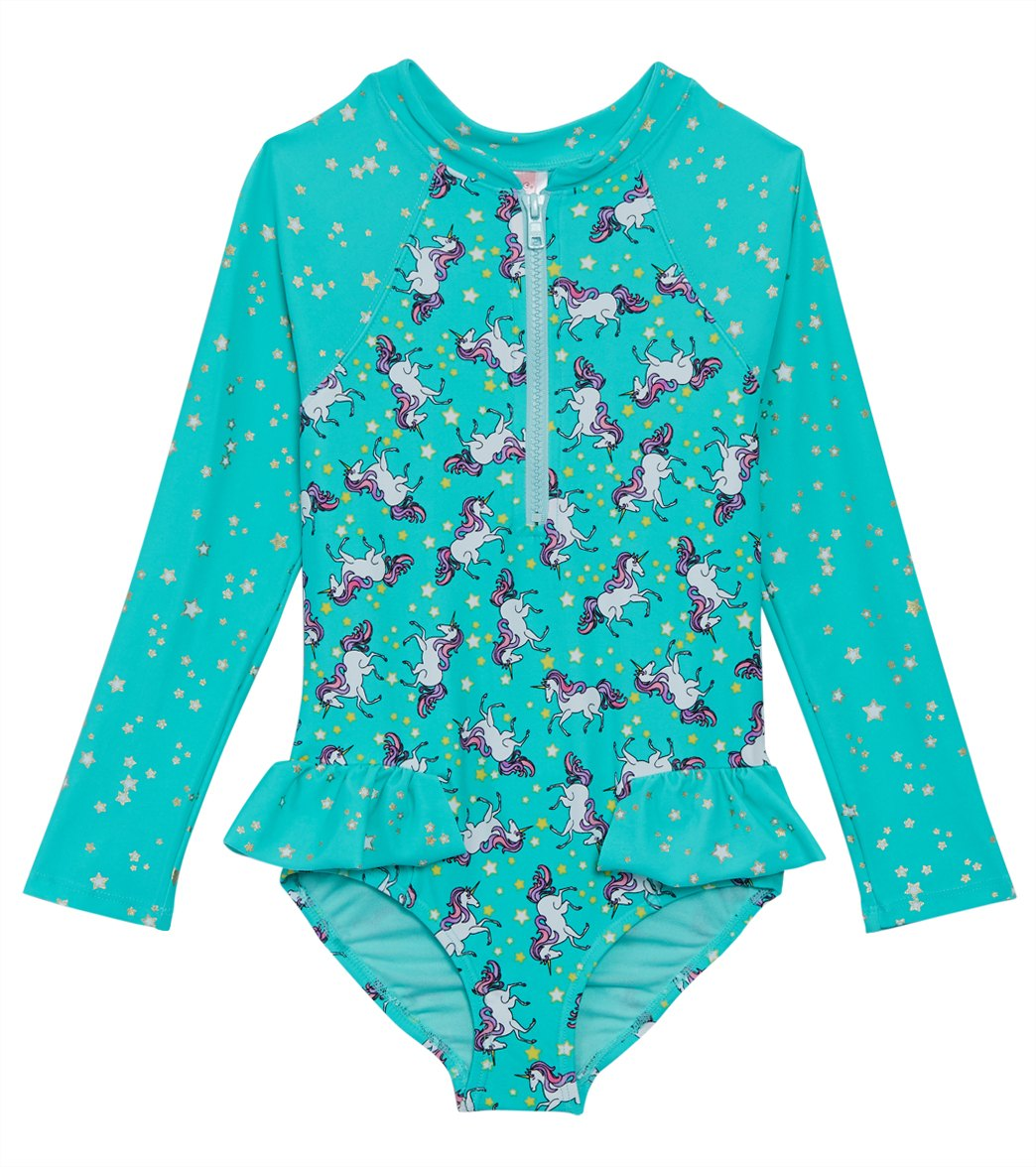 b979918fa92e6 Hula Star Girls' Stardust Dream One Piece Swimsuit (Toddler, Little Kid) at  SwimOutlet.com