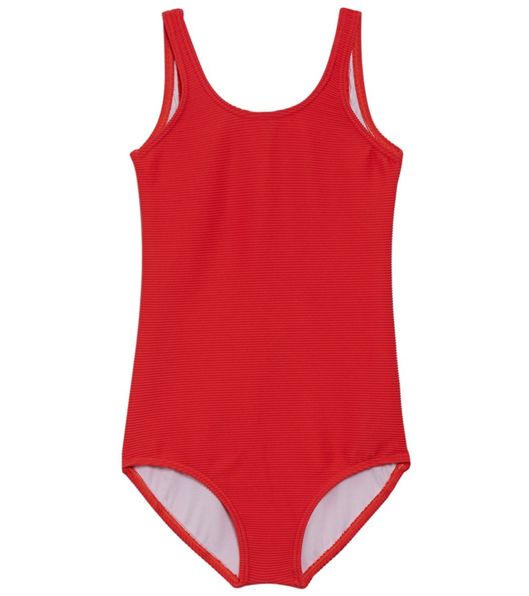 1dc7c6d3bd67 Billabong Girls' Line Up One Piece Swimsuit (Little Kid, Big Kid) at  SwimOutlet.com - Free Shipping