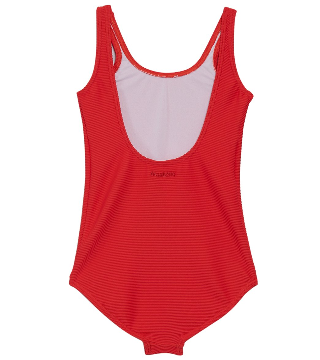 f7b5545c84aa Billabong Girls' Line Up One Piece Swimsuit (Little Kid, Big Kid) at ...