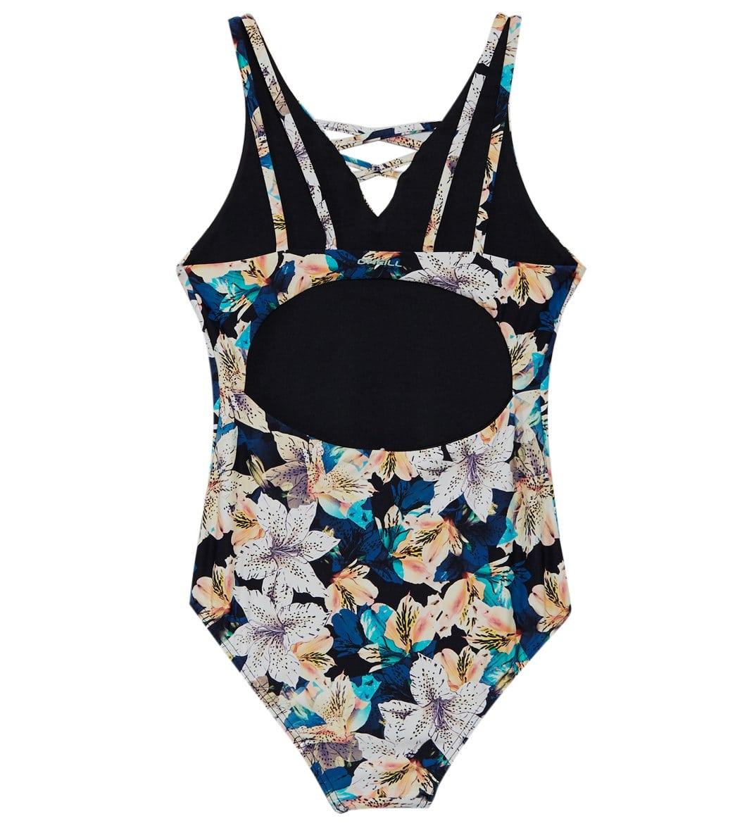0b70ad1141 O Neill Girls  Tiller One Piece Swimsuit (Toddler