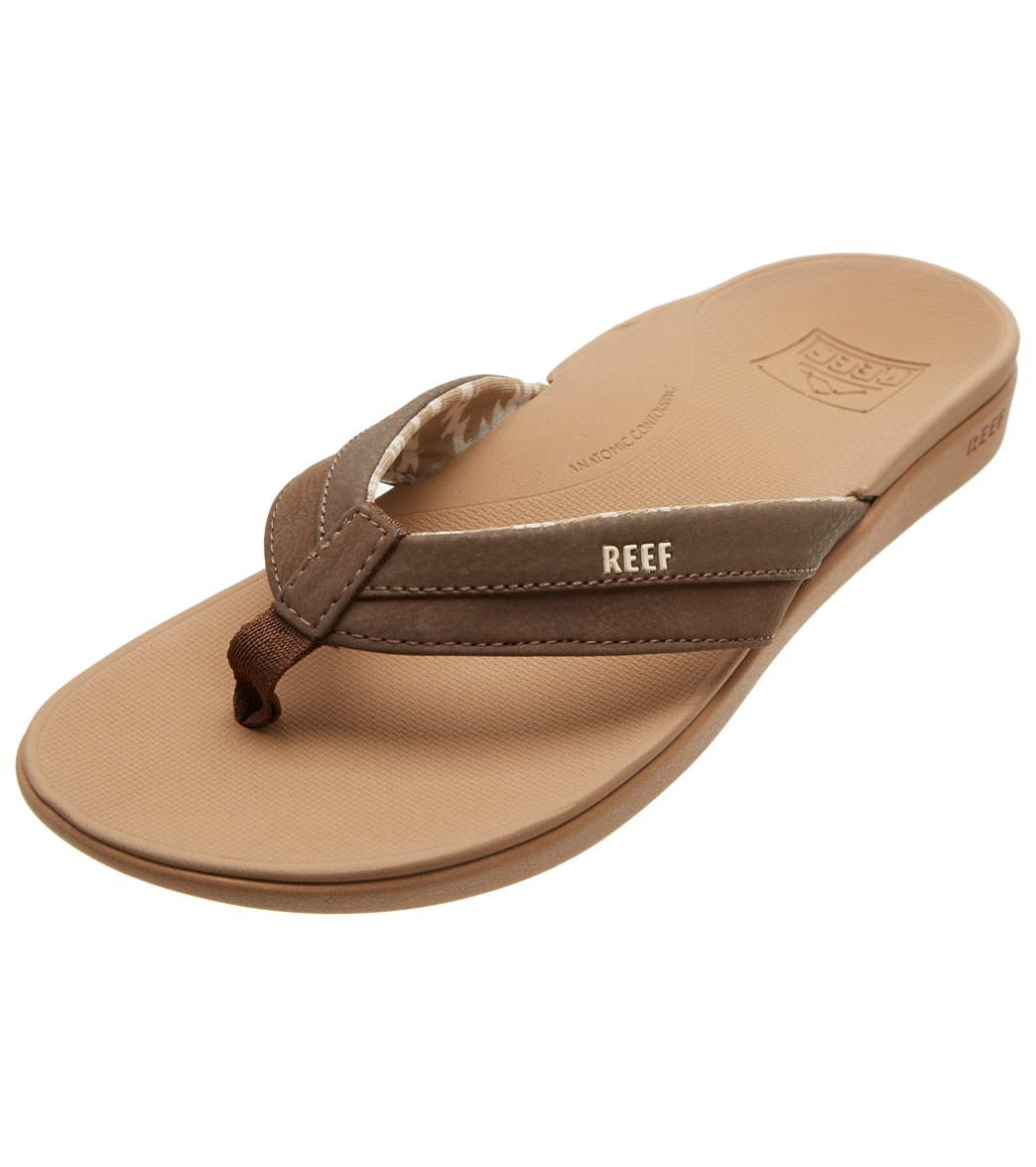 4dd6a084c8e1 Reef Ortho-Bounce Coast Flip Flop at SwimOutlet.com - Free Shipping