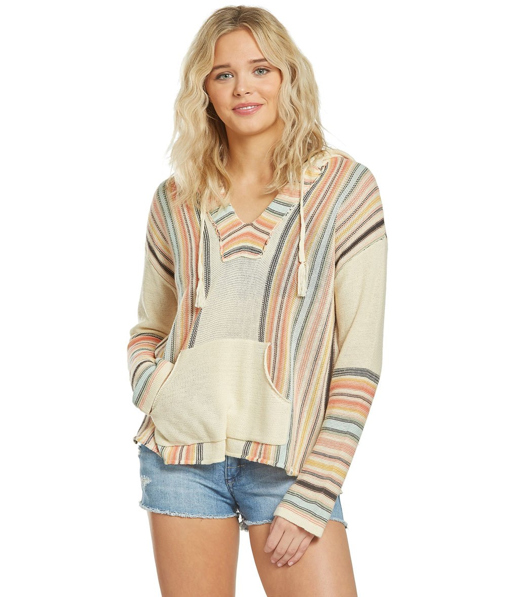 0e102f6b10 Rip Curl Windswept Pullover Poncho at SwimOutlet.com - Free Shipping