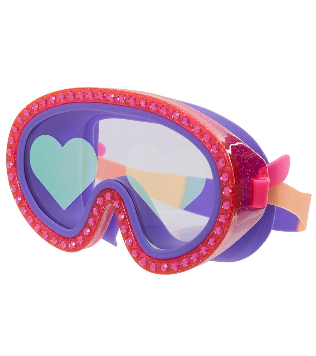 d52d79732e6e Bling2O Kids  Rock Star Heart Swim Mask at SwimOutlet.com