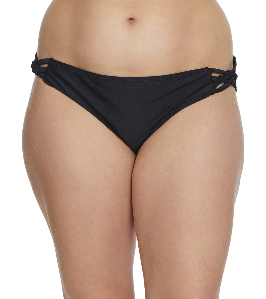 5e1d0f1c5b Volcom Plus Size Simply Solid Full Bikini Bottom at SwimOutlet.com