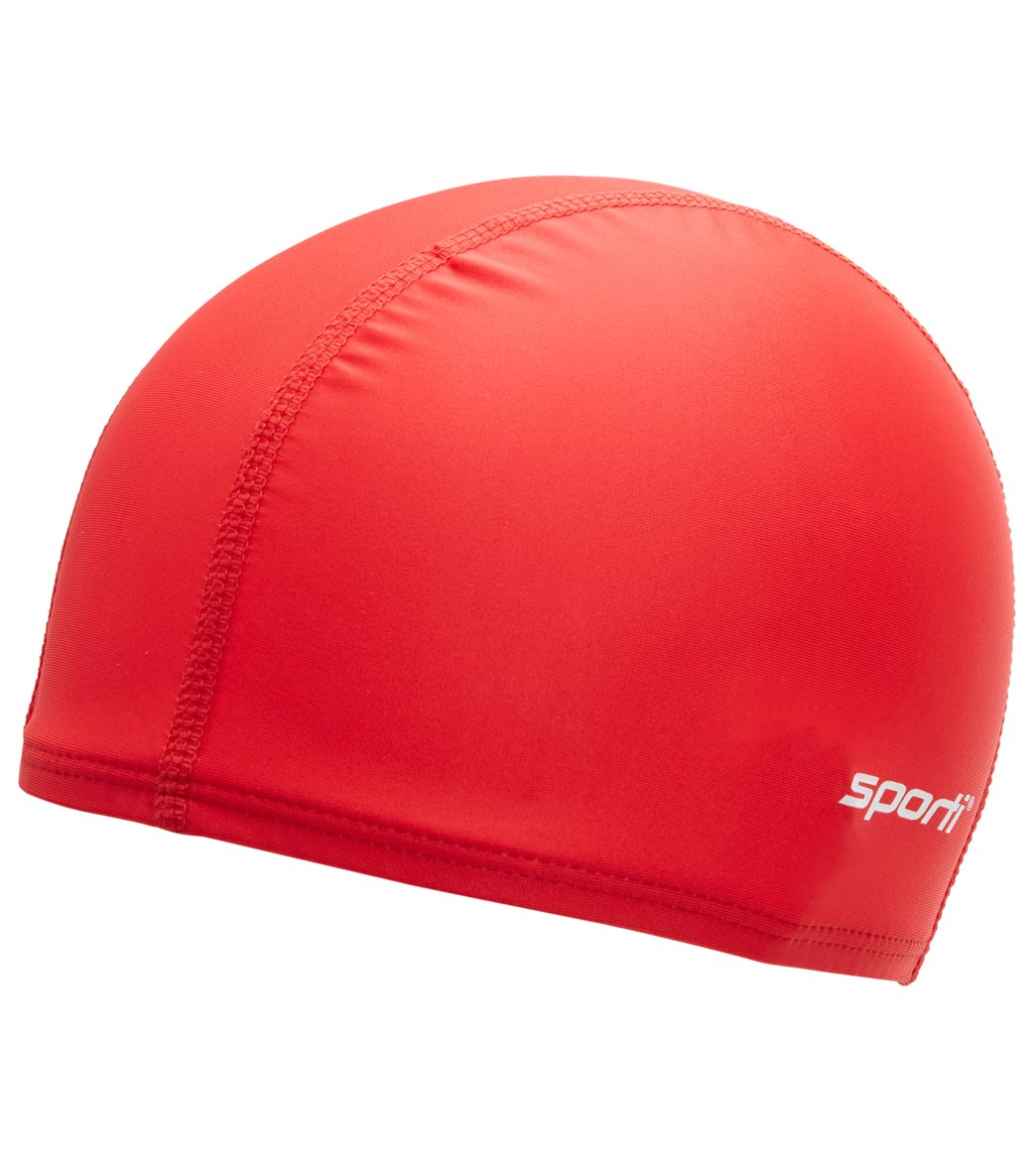 dd5329ff450 Sporti Polyester Spandex Swim Cap at SwimOutlet.com