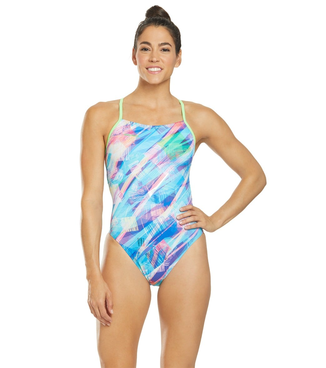 7f41ebcd780fc Waterpro Women s Whimsy One Piece Swimsuit at SwimOutlet.com