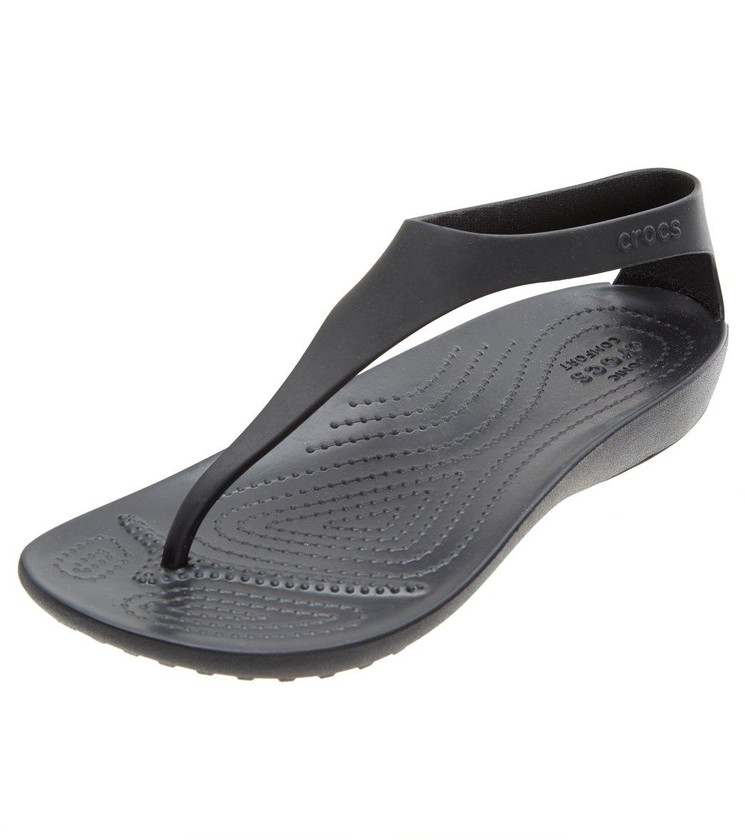 aafa959b9 Crocs Women's Serena Flip Flop at SwimOutlet.com