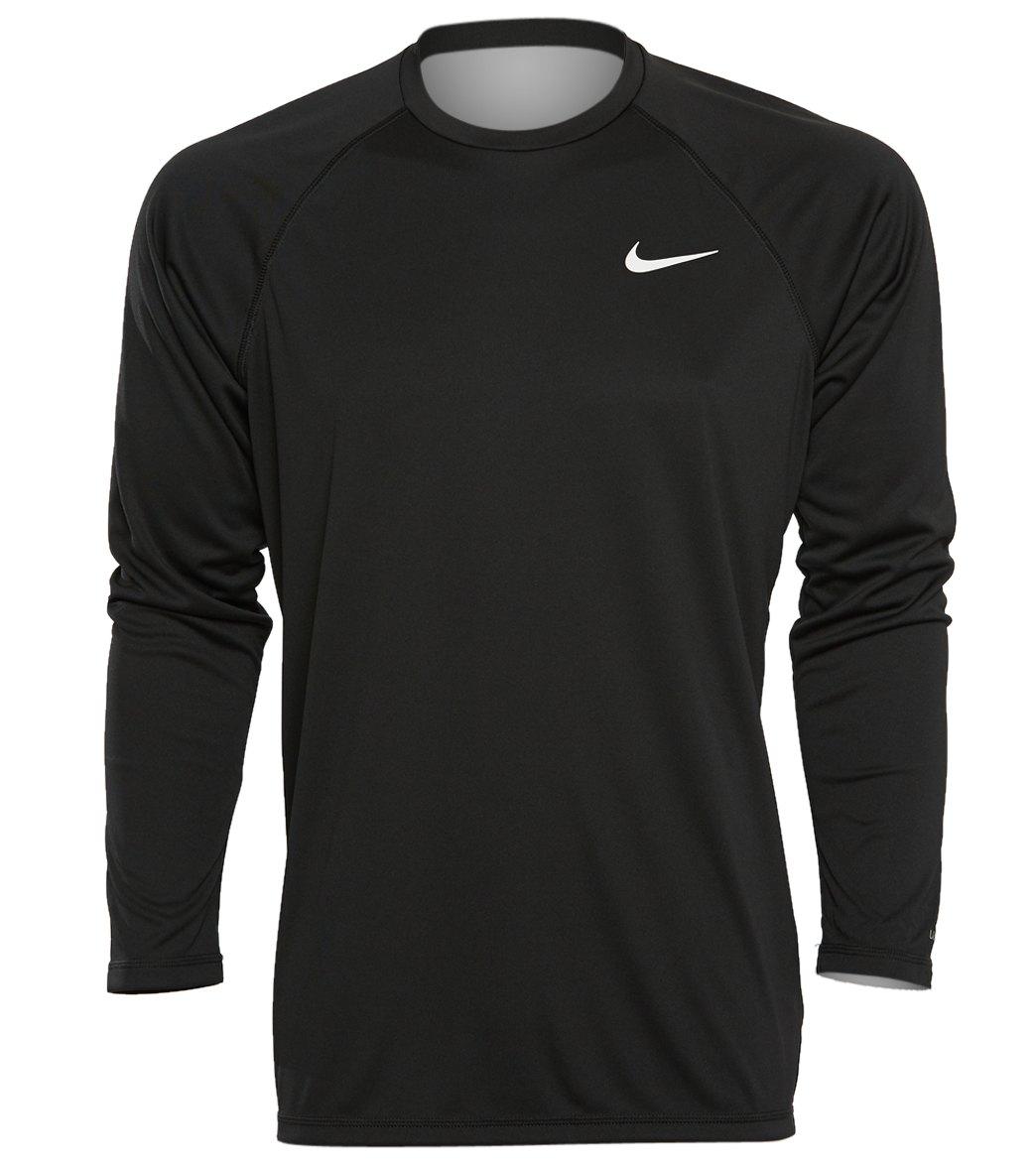 d703684b7 Nike Men's Long Sleeve Hydro Rash Guard at SwimOutlet.com