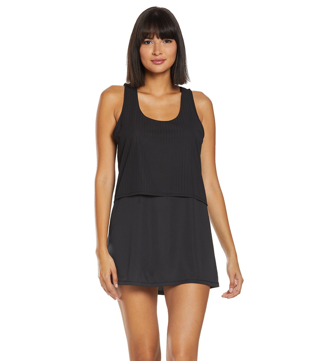 5b86635dc5 Nike Sport Mesh Reversible Cover Up Dress at SwimOutlet.com - Free Shipping