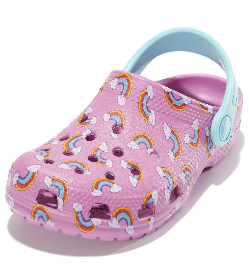 518226b3e0d7 Crocs Classic Graphic Clog (Toddler