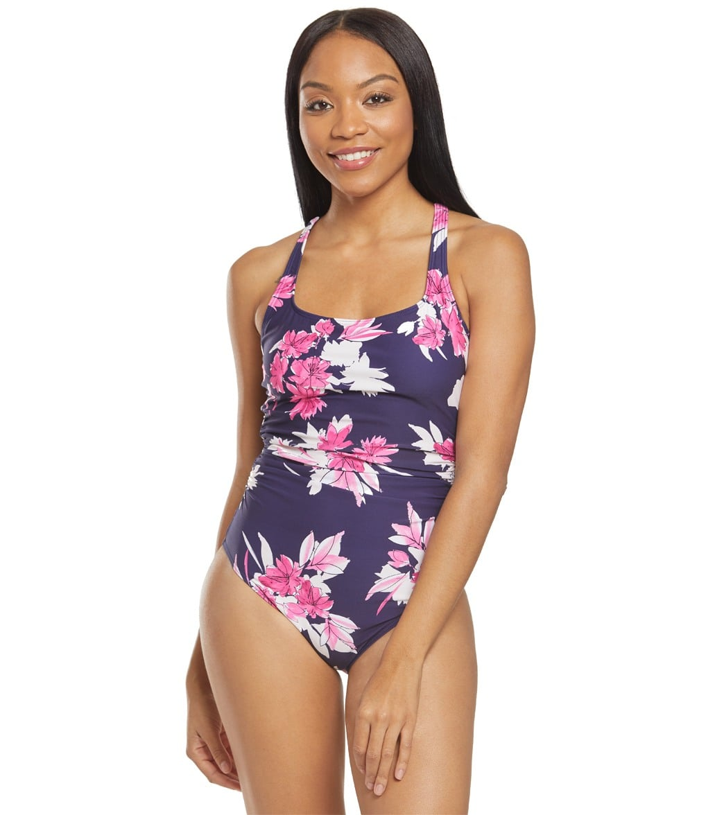 878e74214 Nautica Ahoy One Piece Swimsuit at SwimOutlet.com - Free Shipping