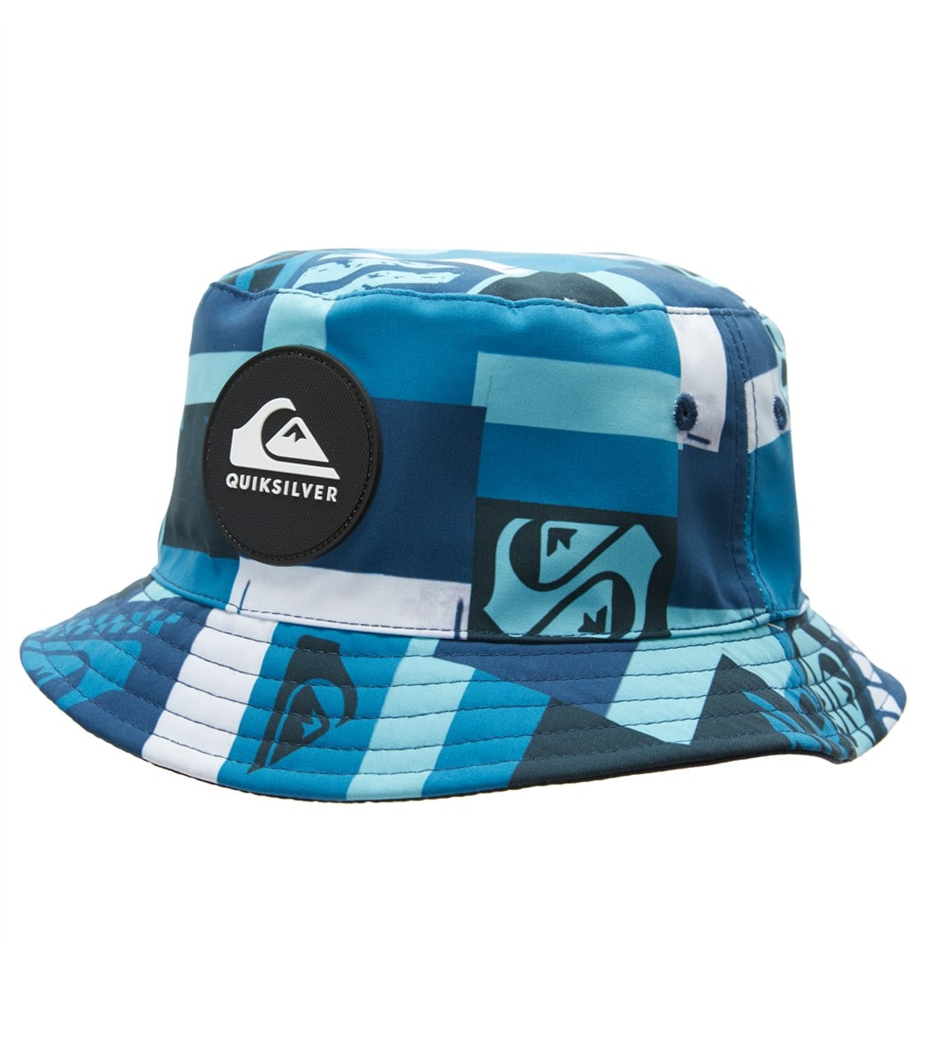 ba61c762d2a7f Quiksilver Boys  Lurkerize Bucket Hat at SwimOutlet.com