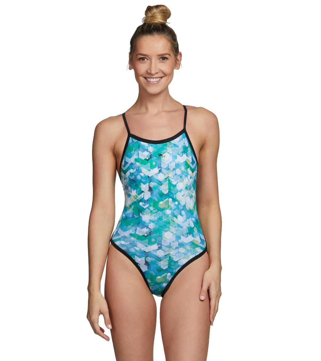 9c633d38ac2 Turbo Women's Arrow Water Polo Suit