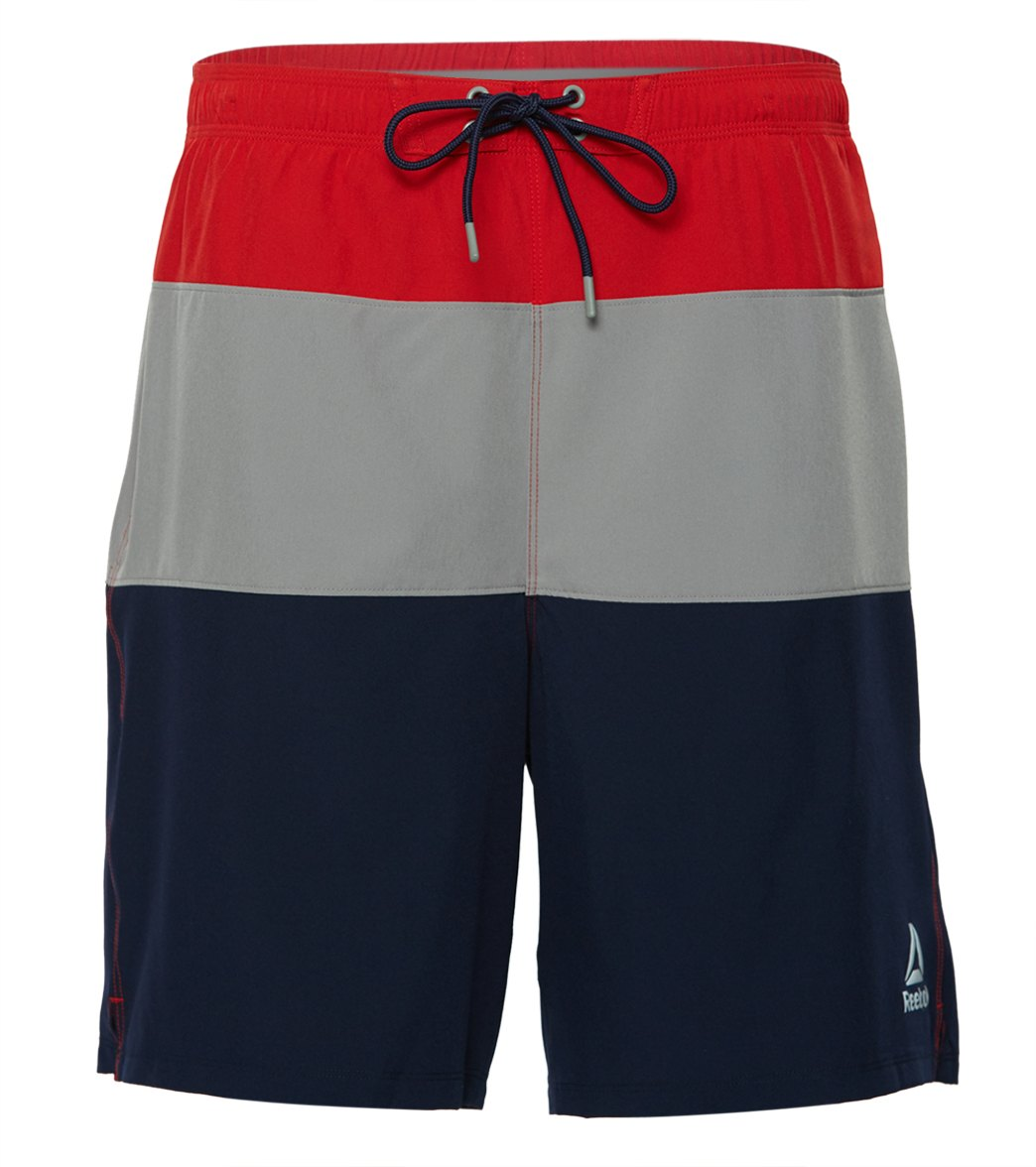 7432660ef1 Reebok Blockhe 20 Volley Shorts At Swimoutlet Shipping