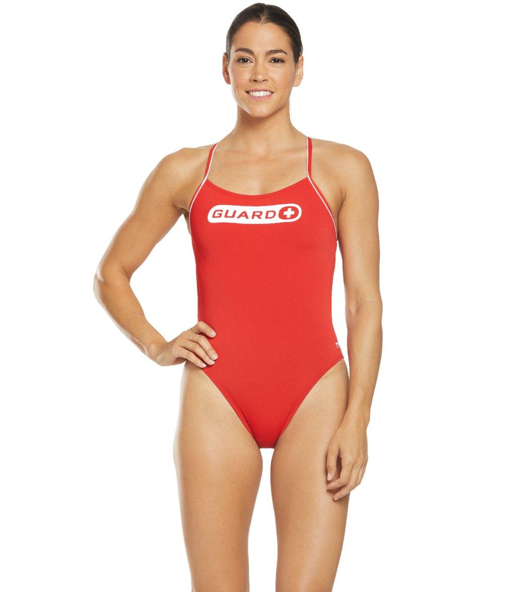 194d9da55b3e1 TYR Women's Guard Cutoutfit One Piece Swimsuit at SwimOutlet.com - Free  Shipping