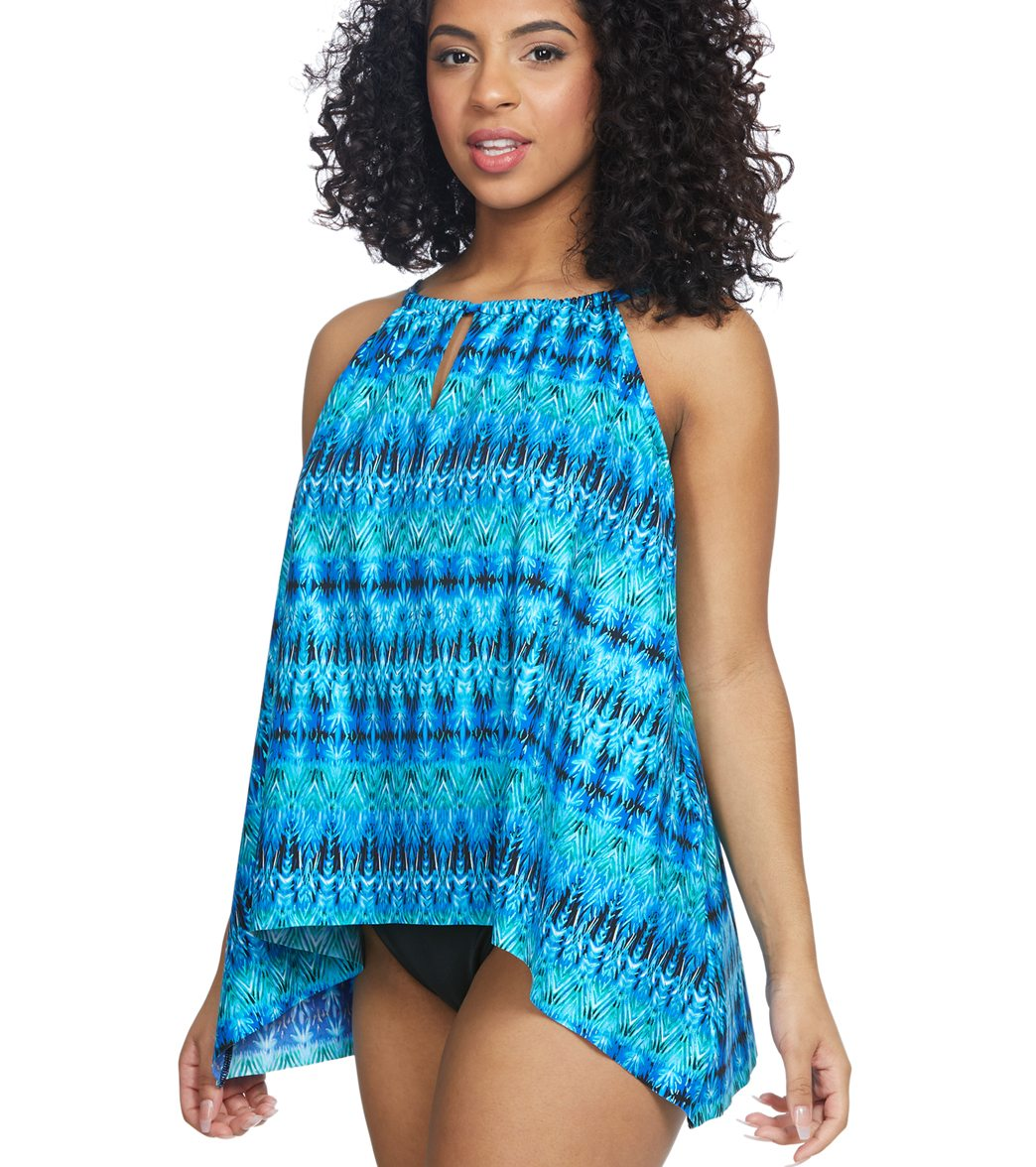 b4fd86cc077 Miraclesuit Cabana Chic Peephole Tankini Top (DD Cup) at SwimOutlet ...