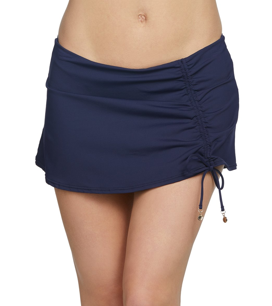 Anne Cole Live In Adjustable Sarong Swim Skirt