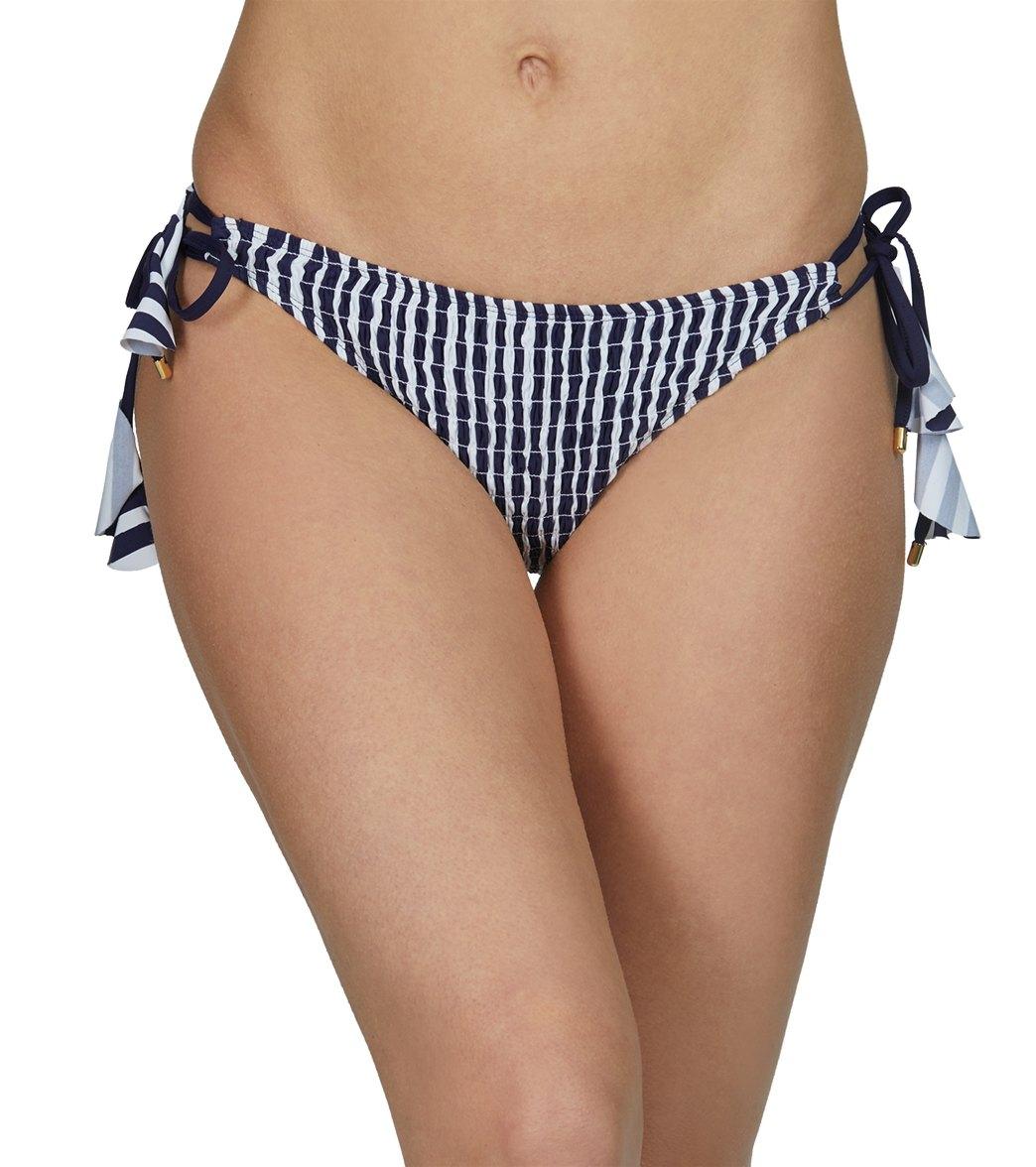 Anne Cole Don't Smock Me Loop String Bikini Bottom