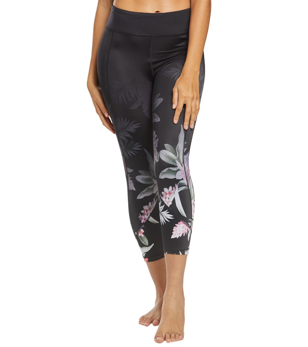 b4b88677afea7b Tommy Bahama Island Active Ginger Flowers Swim Leggings at SwimOutlet.com - Free  Shipping