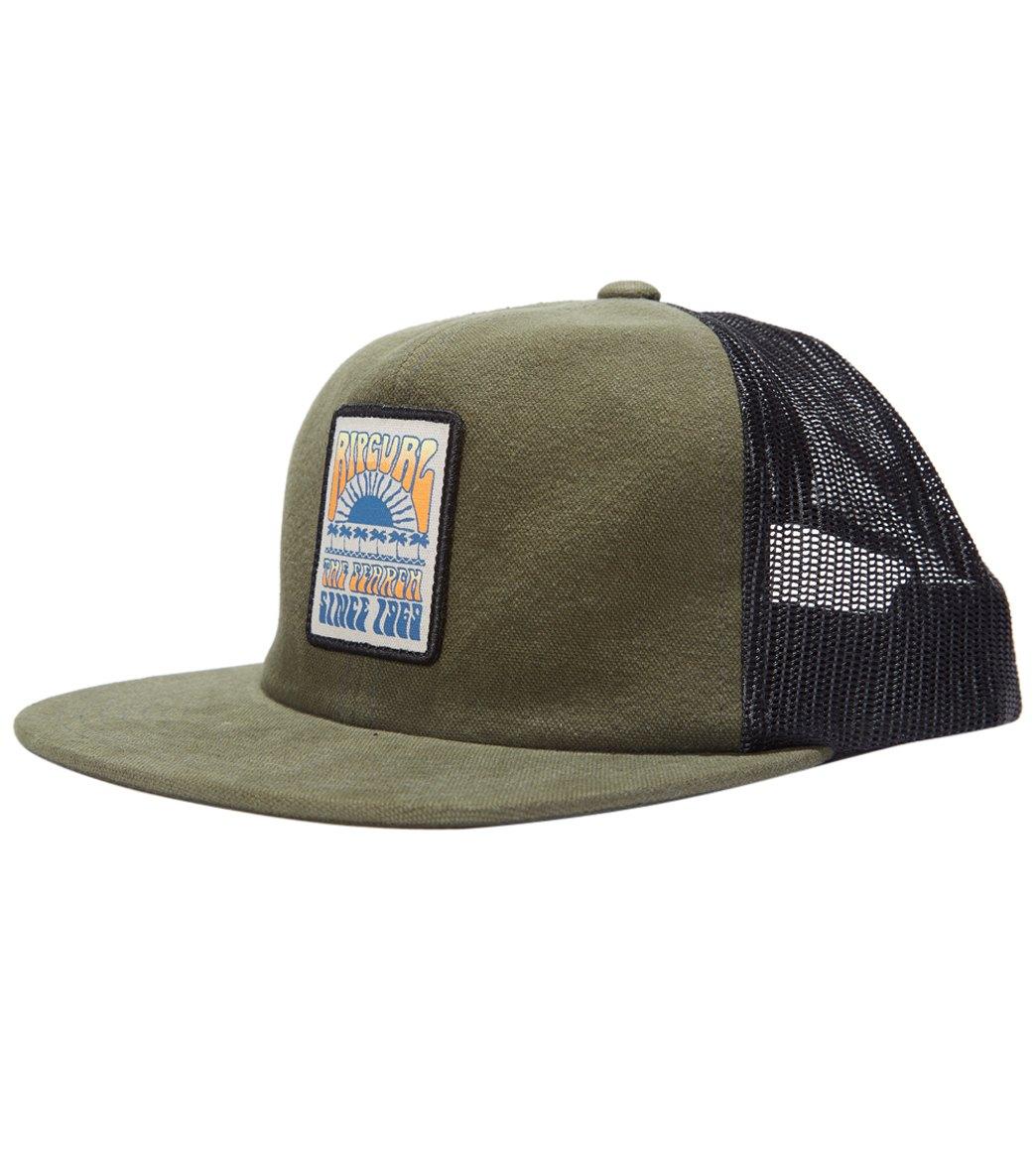 dd6f7fb8ad0a7 Rip Curl Never Stop Trucker Hat at SwimOutlet.com