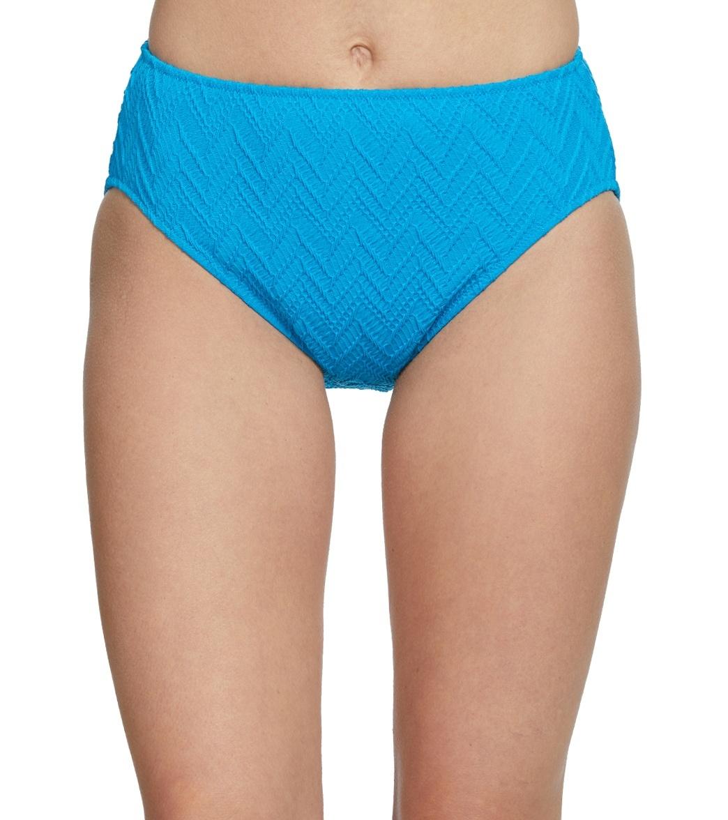 Gottex Jazz Texture High Waisted Bikini Bottom