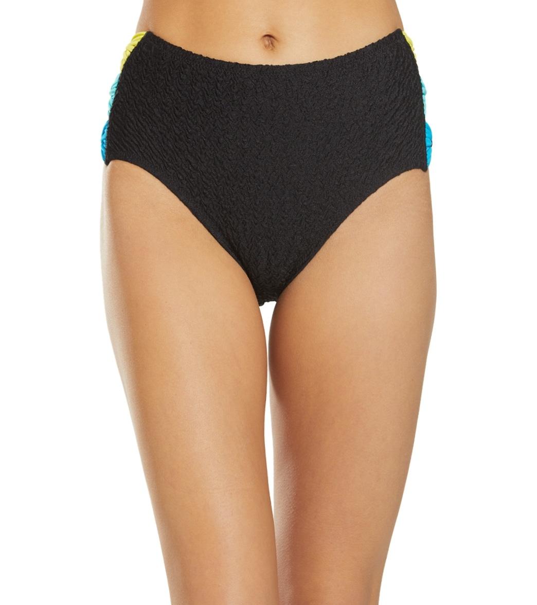 Coco Rave Material Gurl High Leg Taye Bow Bikini Bottom