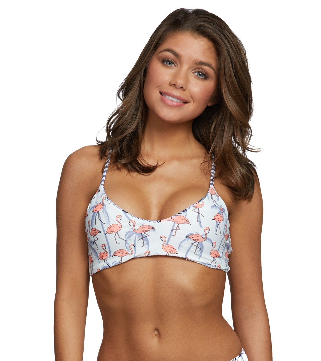 ca01329e25b5c Body Glove Freedom Alani Reversible Fixed Triangle Bikini Top. Splendid