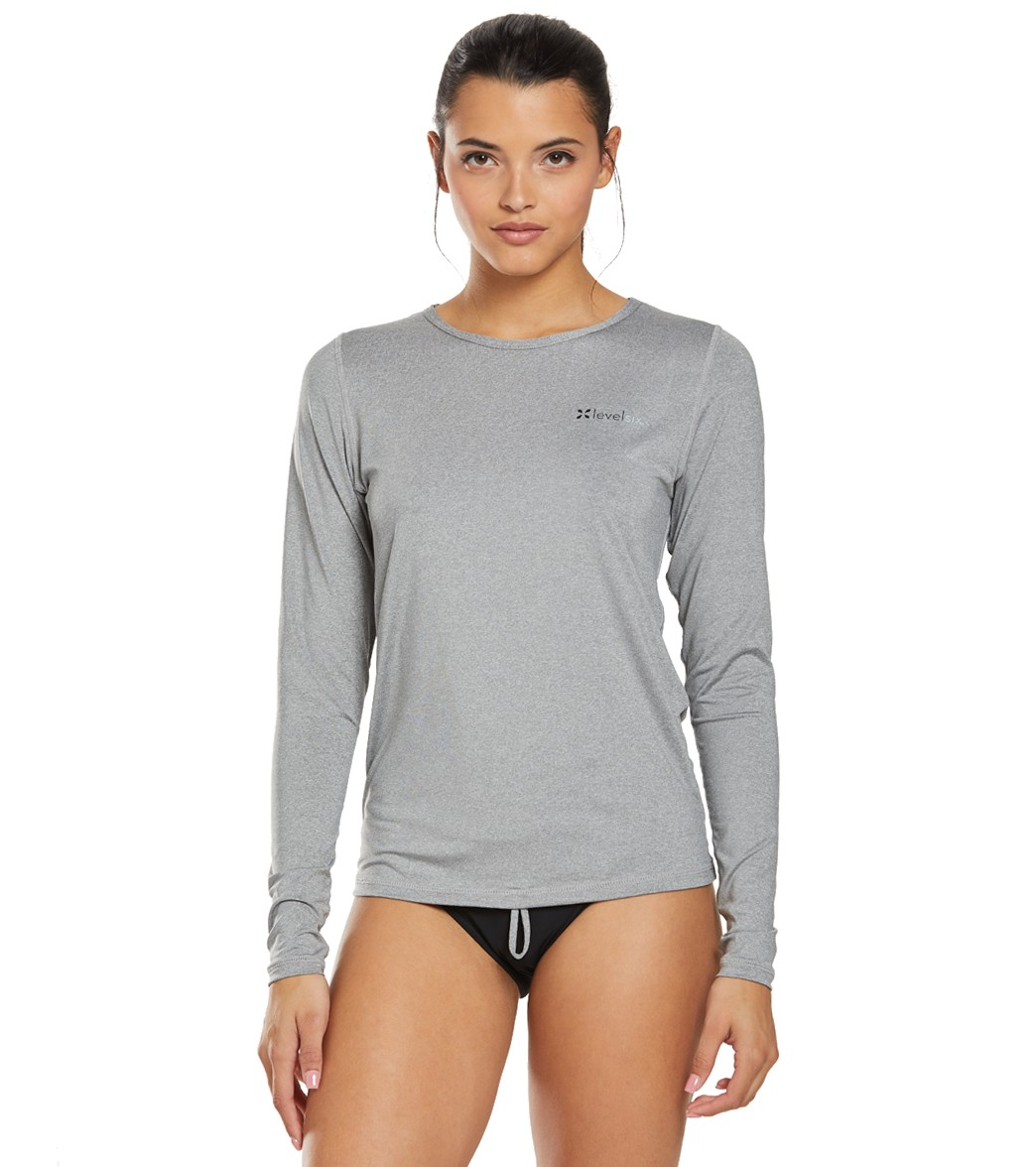 Level Six Women's Oasis Long Sleeve Upf+ Sun Shirt