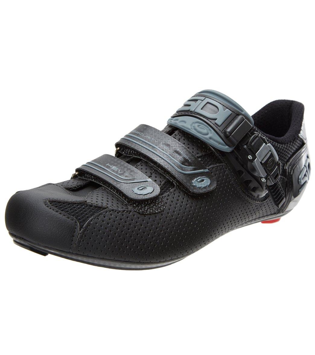Sidi Genius Fit Carbon Men/'s Road Cycling Shoes Black