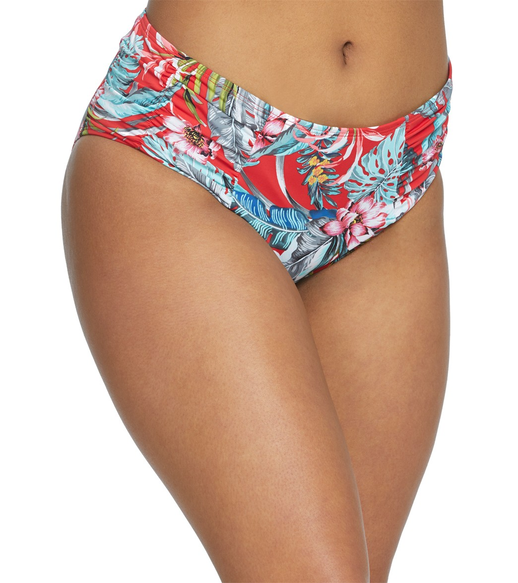 7fc30beb4e Skye Azalea Alessia High Waisted Bikini Bottom at SwimOutlet.com ...