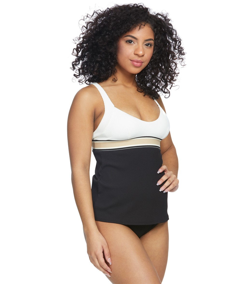 b08cabffeb Skye Corallina Megan V-Neck Tankini Top at SwimOutlet.com - Free ...