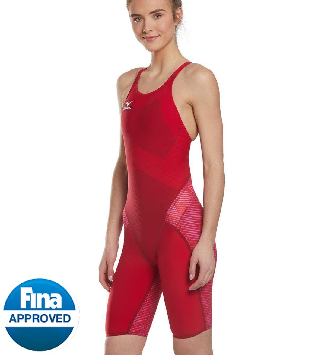 ead4c0e71021c Mizuno Women s GX-Sonic III ST Elite Kneeskin Tech Suit Swimsuit at ...