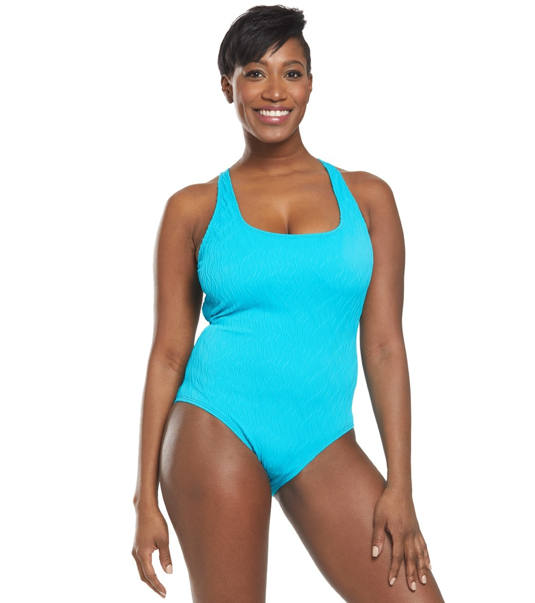 Athena Wave After Tank One Piece Swimsuit
