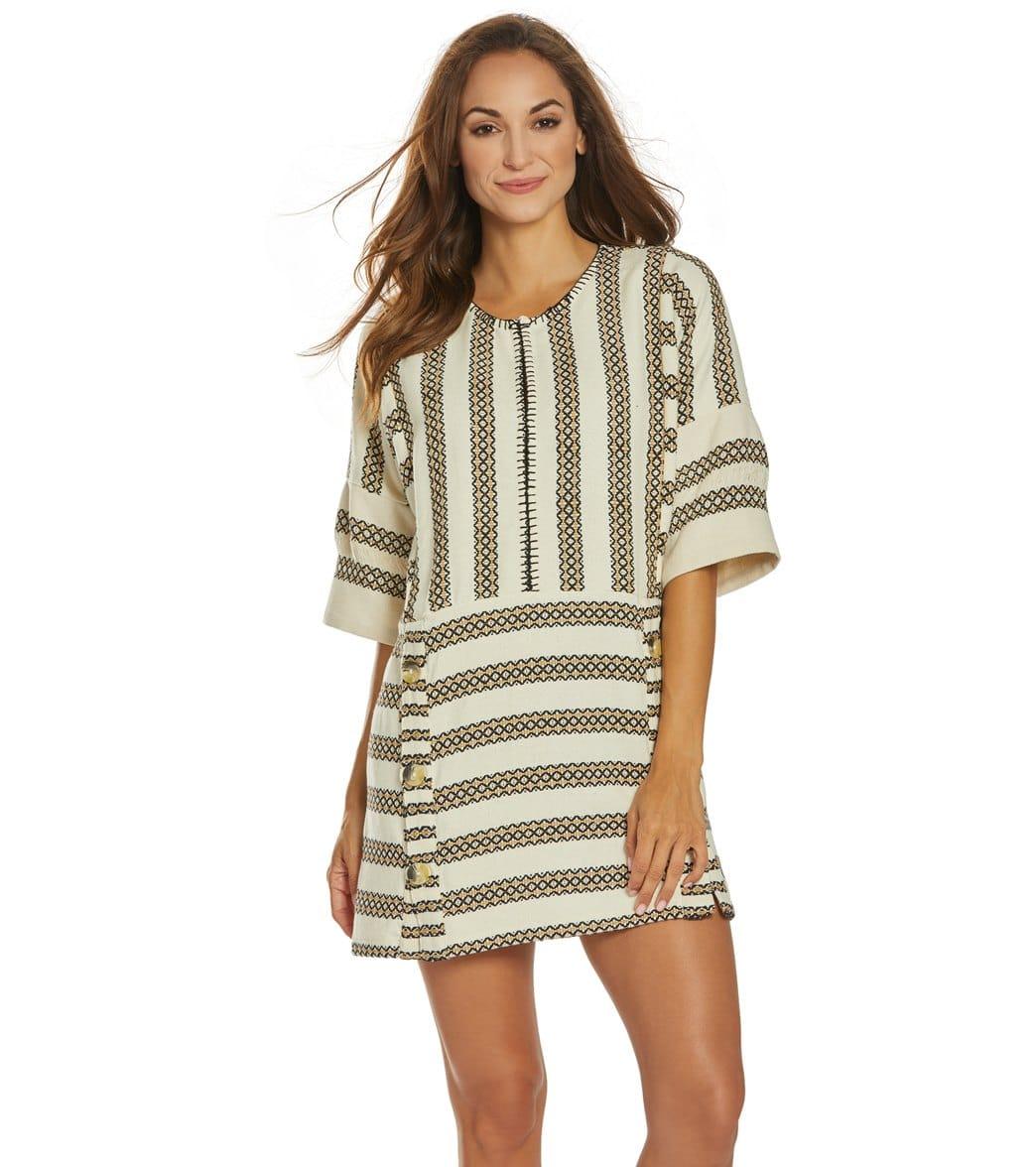 Tigerlily Oasis Smock Dress Cotton