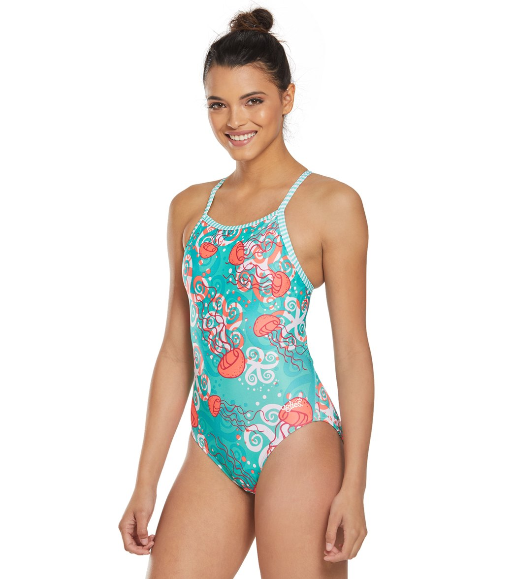 793bf89d904 Dolfin Women's Uglies Jelly V-2 Back One Piece Swimsuit at SwimOutlet.com