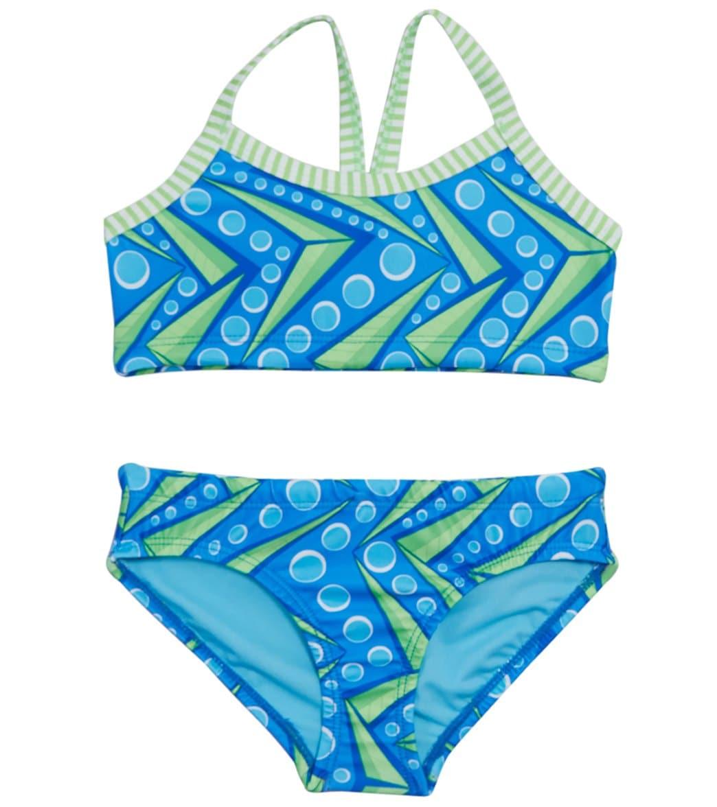 132cf991d83 Dolfin Girls' Uglies Zenon Two Piece Swimsuit at SwimOutlet.com