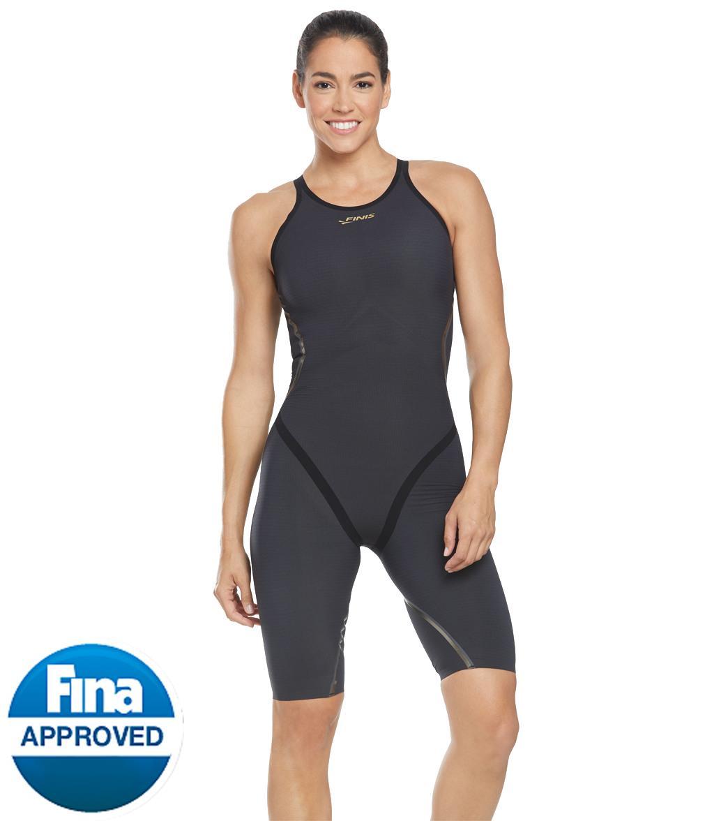 Finis Women's Rival.0 Closed Back Kneeskin Tech Suit Swimsuit