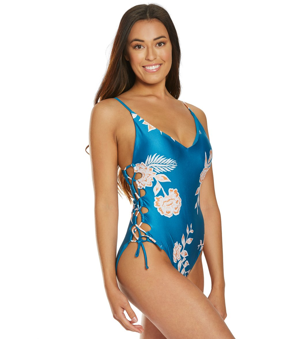 c695a1ee6e5 Roxy Riding Moon One Piece Swimsuit