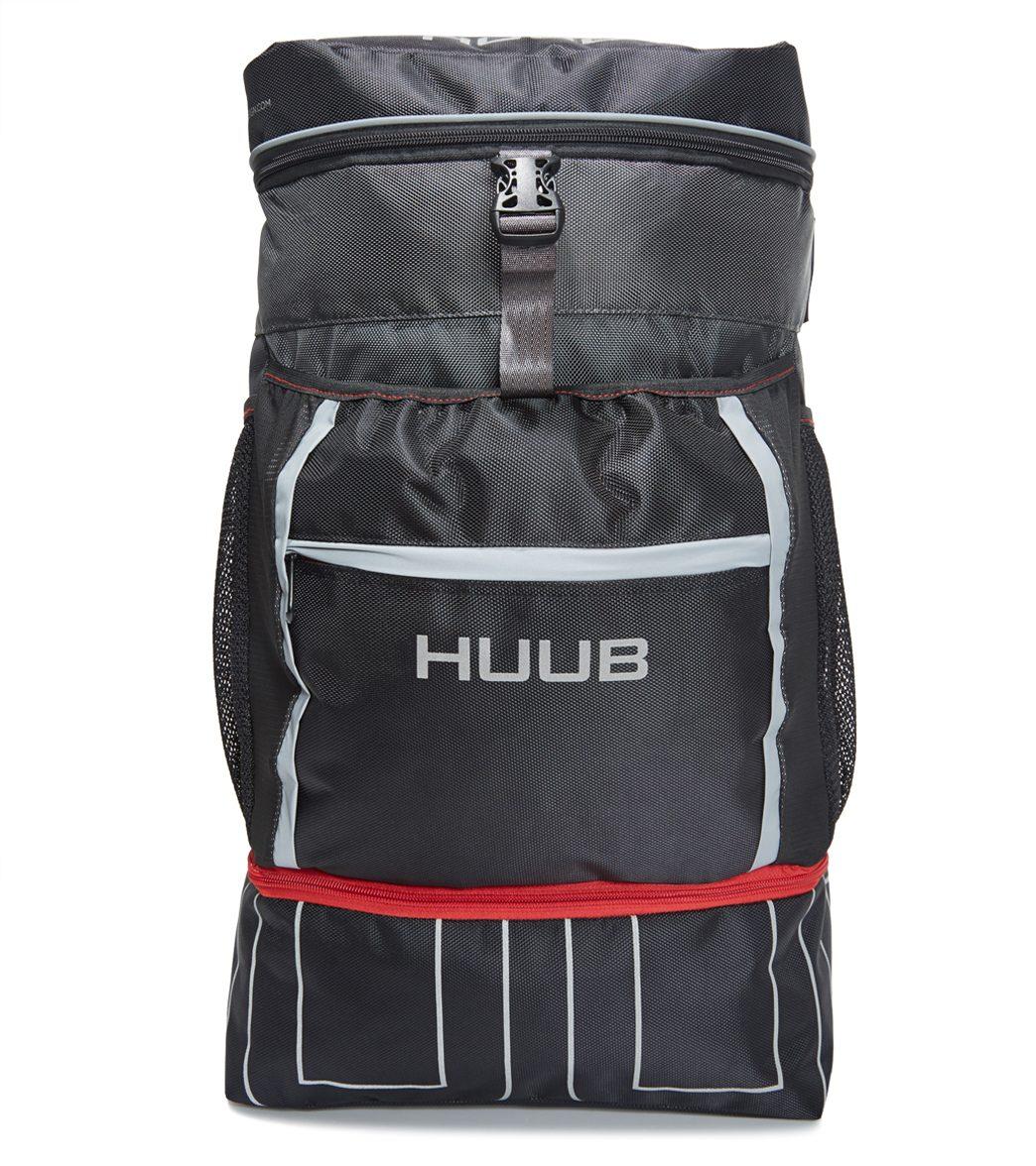 Huub Transition Rucksack - Black/Red - Swimoutlet.com