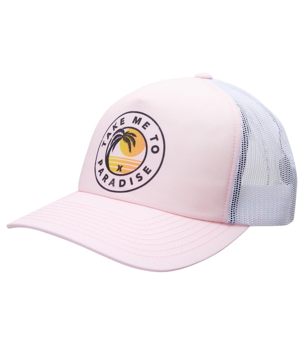 70324aa7e Hurley Women's Take Me To Paradise Trucker Hat