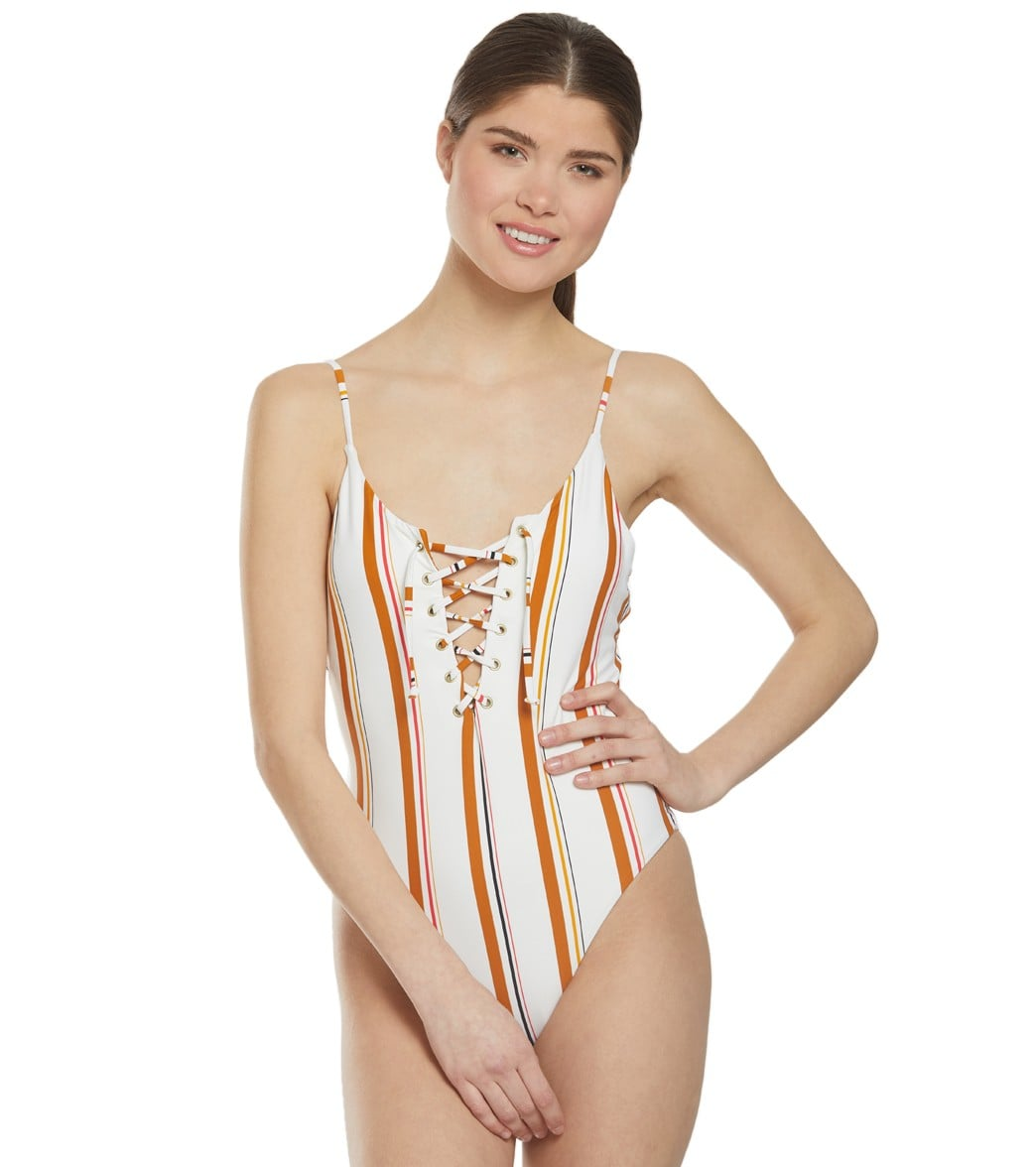 914c807acbd Billabong Sunstruck One Piece Swimsuit at SwimOutlet.com - Free Shipping