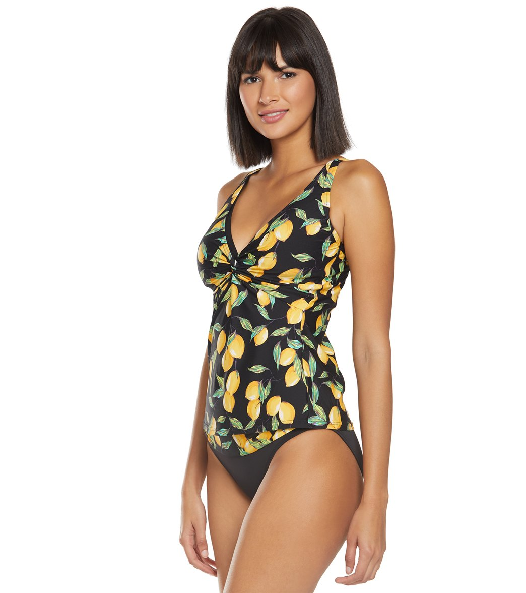 caf718215b546 Sunsets Limoncello Forever Tankini Top (D/DD Cup) at SwimOutlet.com ...