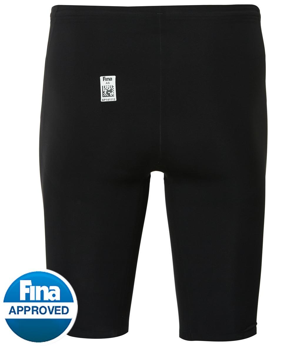 37cd64fa95359 Speedo Men's LZR Pure Valor High Waist Jammer Tech Suit Swimsuit at ...
