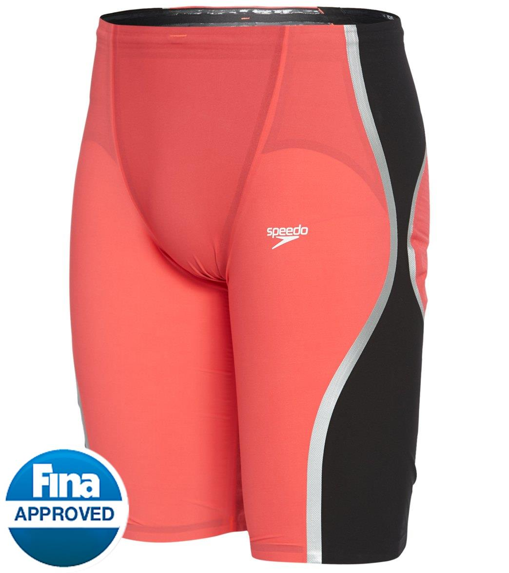 59ec7143c018b Speedo Men's LZR Pure Intent High Waist Jammer Tech Suit Swimsuit at  SwimOutlet.com - Free Shipping